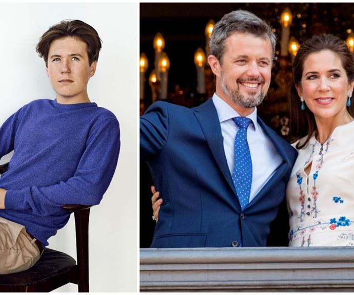 A new portrait of Crown Princess Mary's son Prince Christian is released for an important milestone - and he resembles his mother more than ever