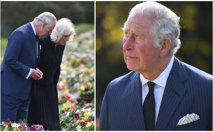 Moving, emotional scenes as Prince Charles steps out in public for the first time since his father's death