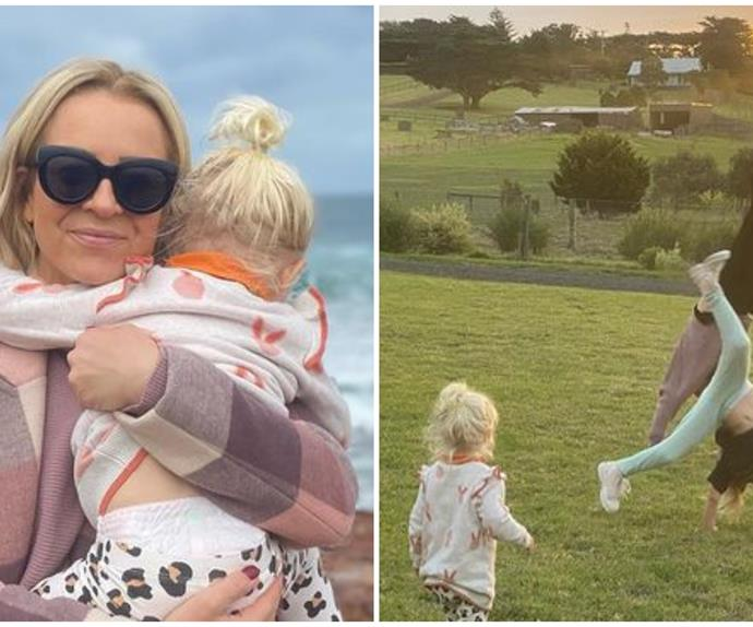Carrie Bickmore just nailed the school holidays with a dreamy country escape with her family