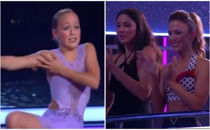 Proving she's really just like her mum, Bec Hewitt's daughter Ava just took the Dancing With The Stars stage by storm