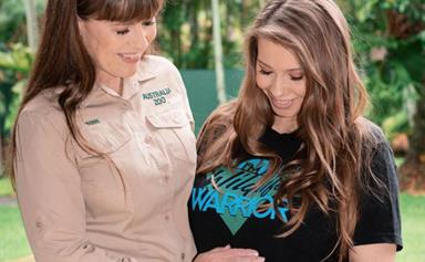 Terri Irwin's heartwarming bonding moment with her newborn granddaughter Grace will pull at your heartstrings