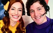 Friendly exes! Wiggles stars Lachy Gillespie and Emma Watkins share personal video together