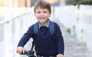Duchess Catherine releases a gorgeous new photo of excitable Prince Louis for his third birthday
