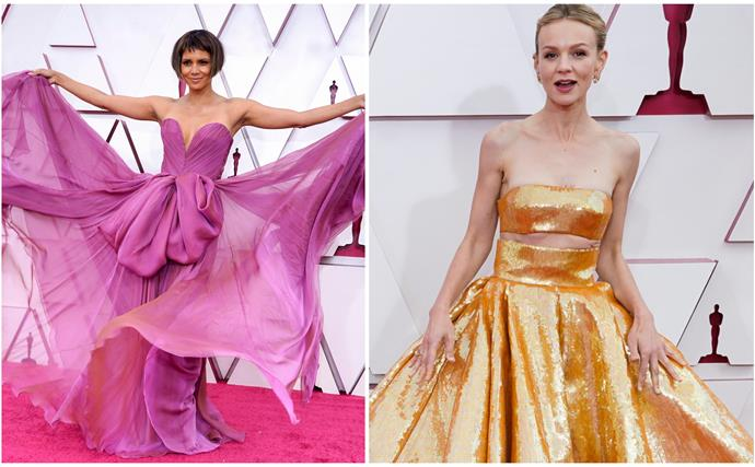 Happy Monday to you and to Carey Mulligan's 2021 Oscars dress: This year's red carpet is fulfilling every single one of our awards season fantasies