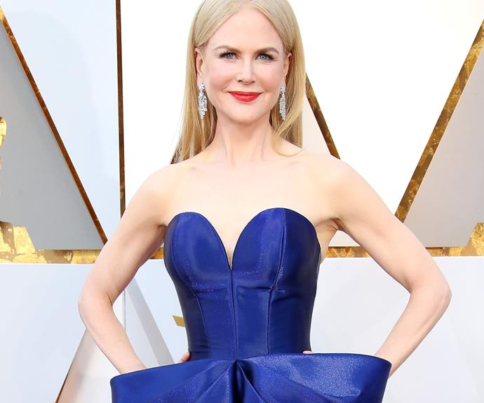 The Covid conscious and nostalgic way Nicole Kidman attended the 2021 Oscars