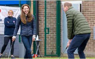 Putt-putt royals: William & Kate share a fun-filled day out just before their 10th wedding anniversary