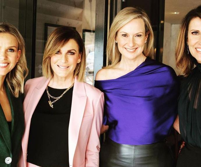 The ultimate power pack! The stars of Channel 7 unite for a very special occasion