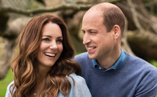 """10 years"": Two stunning new portraits of Prince William & Duchess Catherine have been unveiled for their milestone wedding anniversary"