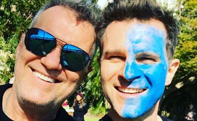 Today Extra host David Campbell's sweet message to his formally estranged father, Jimmy Barnes