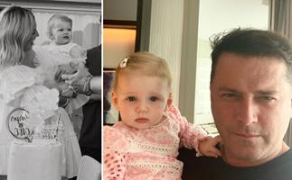 """You are the most precious soul"": Karl and Jasmine Stefanovic celebrate daughter Harper's first birthday"