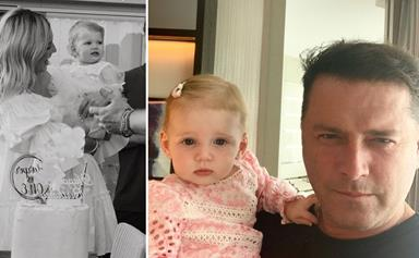 """""""You are the most precious soul"""": Karl and Jasmine Stefanovic celebrate daughter Harper's first birthday"""