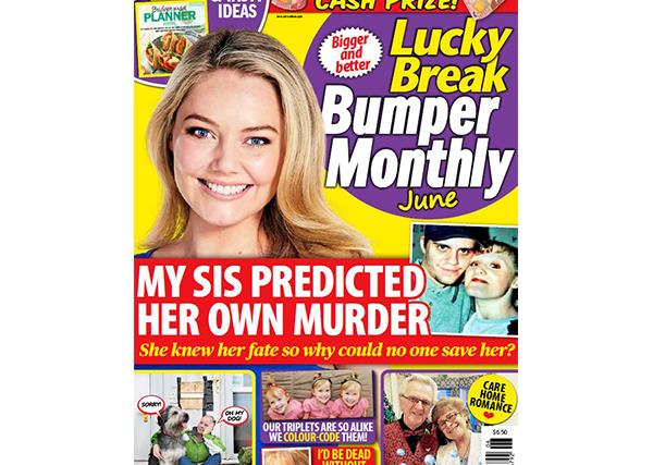 Lucky Break Bumper Monthly June Issue Online Entry