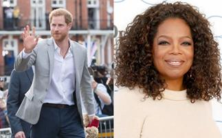 Prince Harry and Oprah