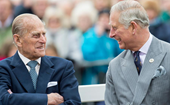 Prince Charles shares rare vintage photo with his late father, Prince Philip, in touching thank you card to fans