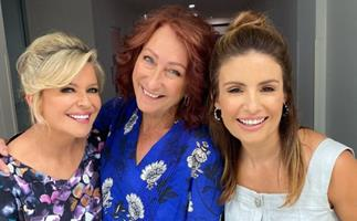 Home and Away star's Emily Symons and Ada Nicodemou share rough behind-the-scenes moment but they're handling the sticky situation well