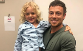 Patrick O'Connor's sweet tribute to his tiny co-star River just made his Home And Away exit all the more heart-wrenching