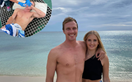EXCLUSIVE: Jackson's girlfriend Maddie came to his rescue after he was bitten by a shark