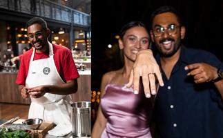 MasterChef's Justin reveals his mid-show surprise proposal to fiancée Esther
