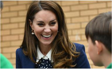 Duchess Catherine just gave us the ultimate autumnal outfit hack during her latest outing