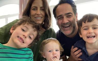 Wippa's three kids are the cutest mini-me versions of their radio star dad