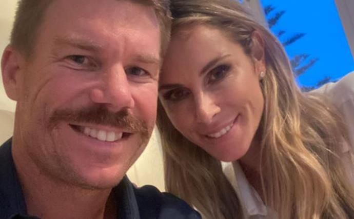 Cricketer David Warner shares an emotional update about his wife Candice Warner after being trapped in India