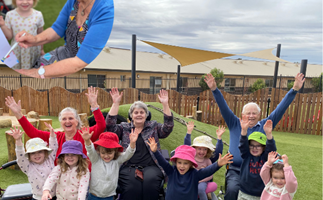 You've seen the TV show, now meet the real Old People's Home For 4 Year Olds
