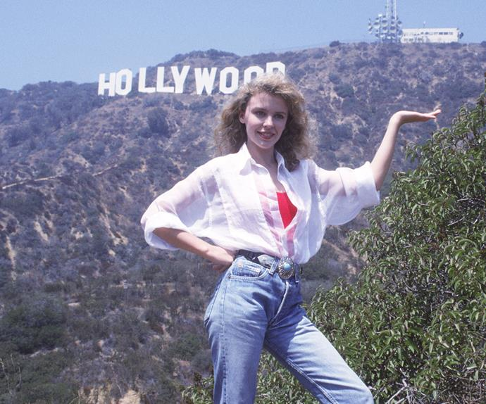 Kylie Minogue's looks from the 80s are everything you would expect from the stylish queen of pop