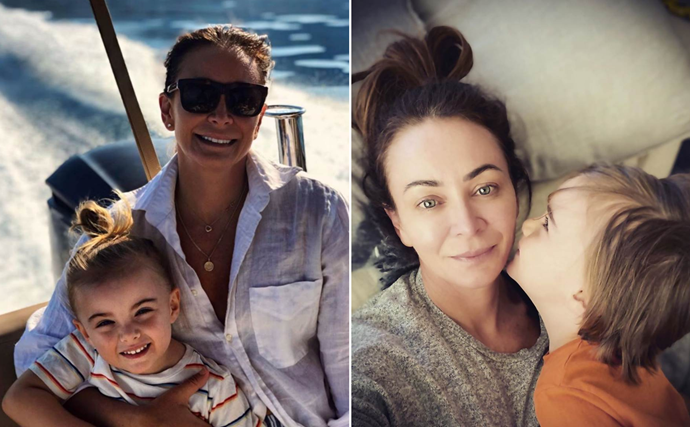 EXCLUSIVE: 'I'm happy on my own': Michelle Bridges reveals son Axel is the only male she needs in her life