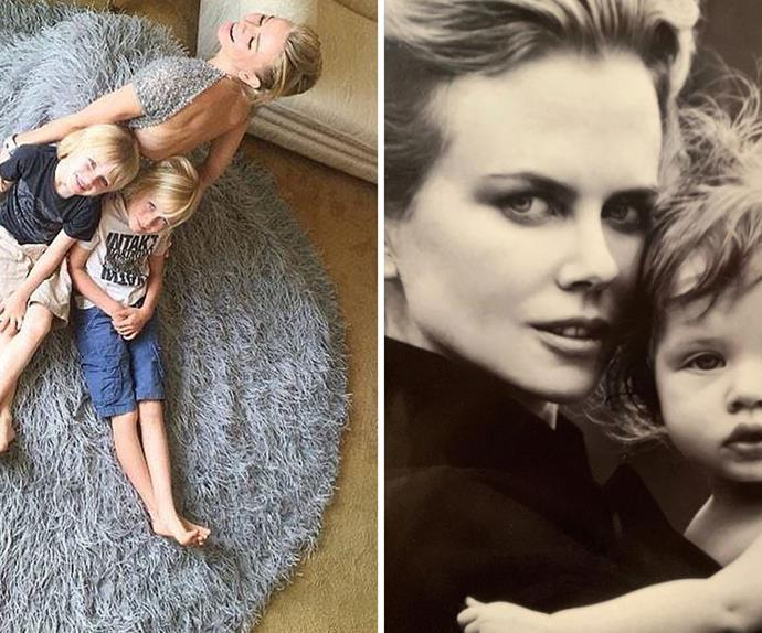 The famous celebrities who experienced the joy of embracing motherhood later in life