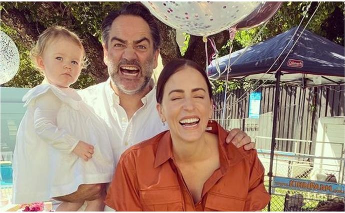 Wippa's risky tribute to his wife Lisa on her birthday somehow comes across perfectly
