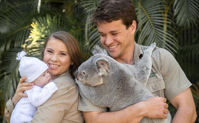 Proud parents Bindi Irwin and Chandler Powell celebrate exciting milestone for baby Grace