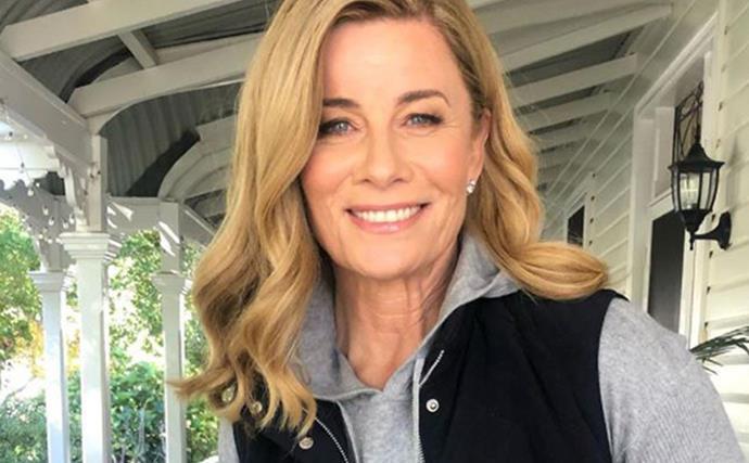 Deborah Hutton bravely shares an update 12 months after her invasive skin cancer surgery