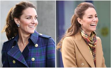 I beg your tartan: Inside Duchess Catherine's quirky wardrobe on her royal tour of Scotland