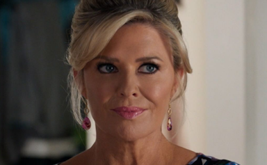 Emily Symons brought one of her most iconic Home And Away looks to back to our attention with an incredible throwback photo