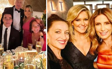 It's a Summer Bay soiree! The cast of Home And Away undergo a very glam makeover for an upcoming black-tie scene - & fans can't get enough of their transformations