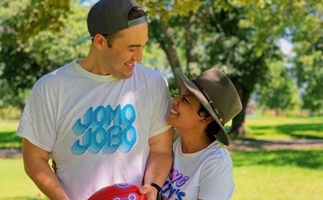Miranda Tapsell just announced she's pregnant with husband James Colley in the sweetest way