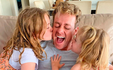 EXCLUSIVE: Grant Denyer gets candid about fatherhood, wanting more kids and dark family secrets