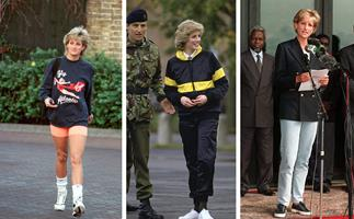 The sneaker slayer! Diana was the OG queen of sneakers - here's how to replicate the trend in 2021