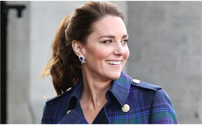 After a week of extravagant outfits, Duchess Catherine opted for one of her most casual ensembles to date for her first vaccination