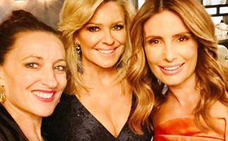 """""""They were long days but we had a ball"""": Ada Nicodemou shares a sweet tribute to her Home & Away co-stars after a gruelling week of filming"""