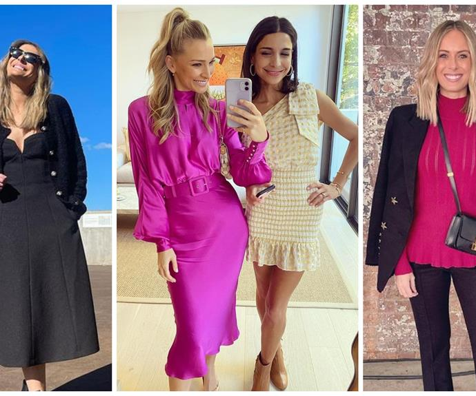 There's local lovin' aplenty as Australian celebrities get all dressed up for Fashion Week