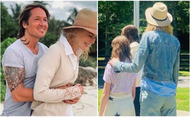 Keith Urban's rare and intimate family photo of Nicole Kidman and their daughters, Faith Margaret and Sunday Rose