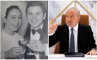 Lord Alan Sugar may have a tough-as-nails exterior on Celebrity Apprentice, but his relationship with his wife is as sweet as his name