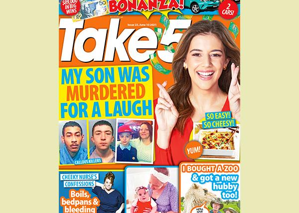 Take 5 Issue 23 Online Entry Coupon