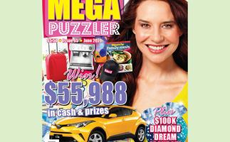 Take 5 Mega Puzzler Issue 65 Online Entry Coupon