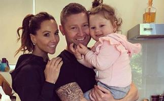 Michael & Kyly Clarke spark baby rumours after the exes were spotted having a family holiday together