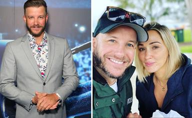 """""""She's finally here!"""" Luke Jacobz is reunited with his fiancée after COVID travel restrictions forced them apart for over a year"""