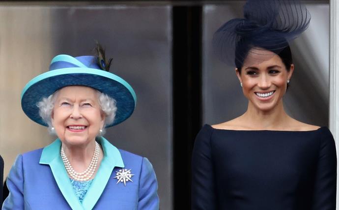 Queen Elizabeth, Meghan Markle