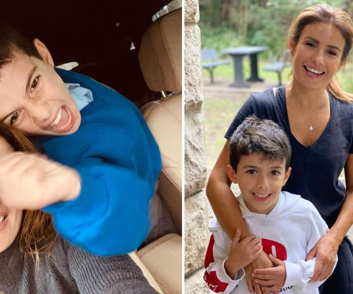 Ada Nicodemou's son Johnas is following in her footsteps by making an unexpected, albeit adorable small screen appearance