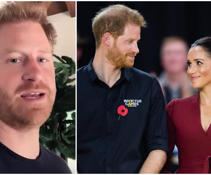 """Prince Harry takes a quick break from new dad duties to share some """"big"""" news"""